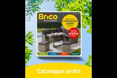 Le catalogue jardin de Brico