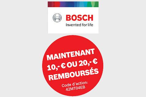 Jusqu'à €20 cashback à l'achat d'un instrument de mesure Bosch