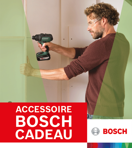Accessoire Bosch cadeau - PROLONGÉE JUSQU'AU 23 AOÛT