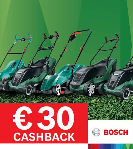 € 30 cashback - VERLENGD TOT 23 AUGUSTUS
