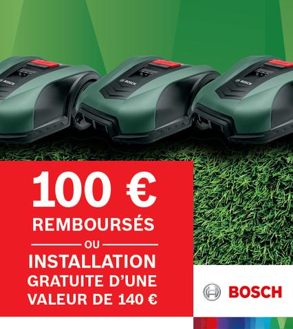 €100 remboursés - ou - Installation gratuite
