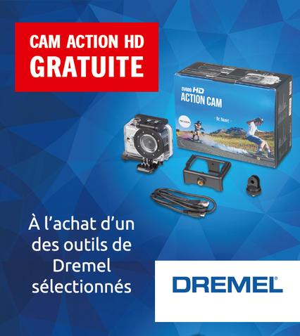 Cam action HD gratuite - PROLONGÉE JUSQU'AU 23 AOÛT