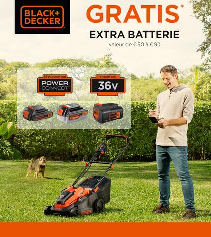 Extra batterie gratuite