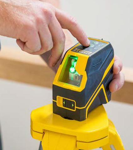 Tot €50 terugbetaald bij aankoop van een lasergereedschap Stanley en Stanley Fatmax