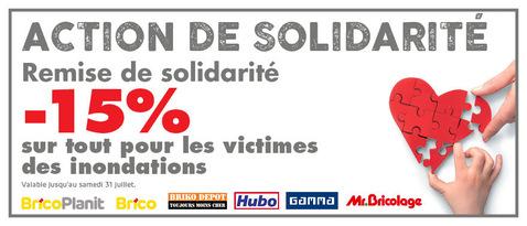 Action de solidarité
