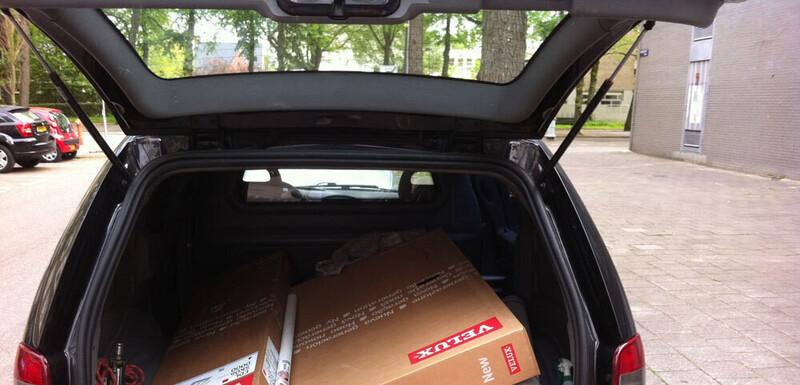 Placer une fenêtre de toit Velux