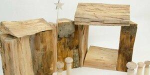 Création d'une crèche de Noël