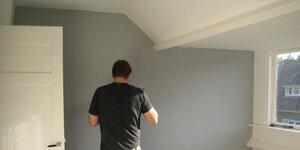 Behang schilderen