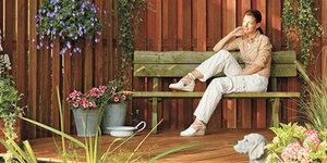 Je houten terras behandelen en onderhouden