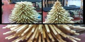 Sapin en bois