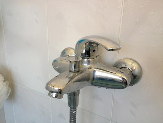 Mengkraan bad/douche werkt niet goed