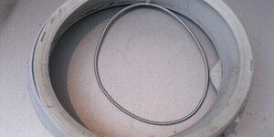 Wasmachine rubber vervangen
