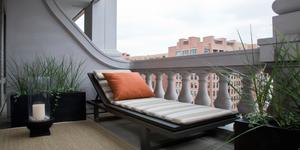 Overdekt balkon