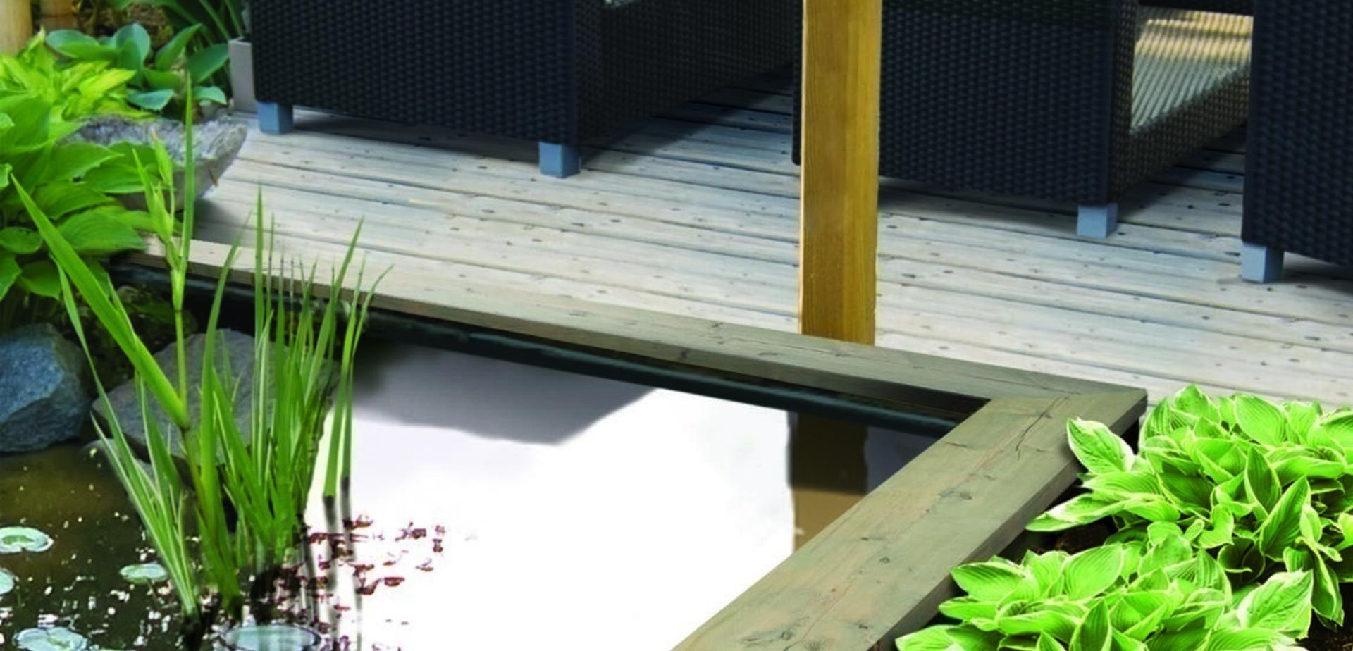 Construire Son Bassin De Jardin construire un bassin de jardin | Étape par étape | brico.be