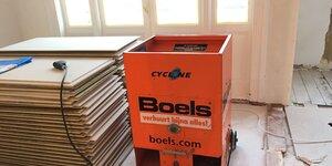 Vloer isoleren met Easycell Systeem