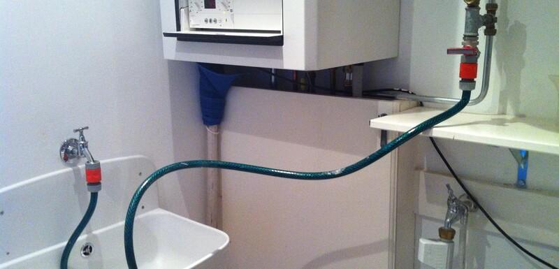 Ajouter de l'eau à la chaudière du chauffage central