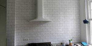 Tegelwand in keuken