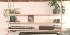 Een hangende kast maken