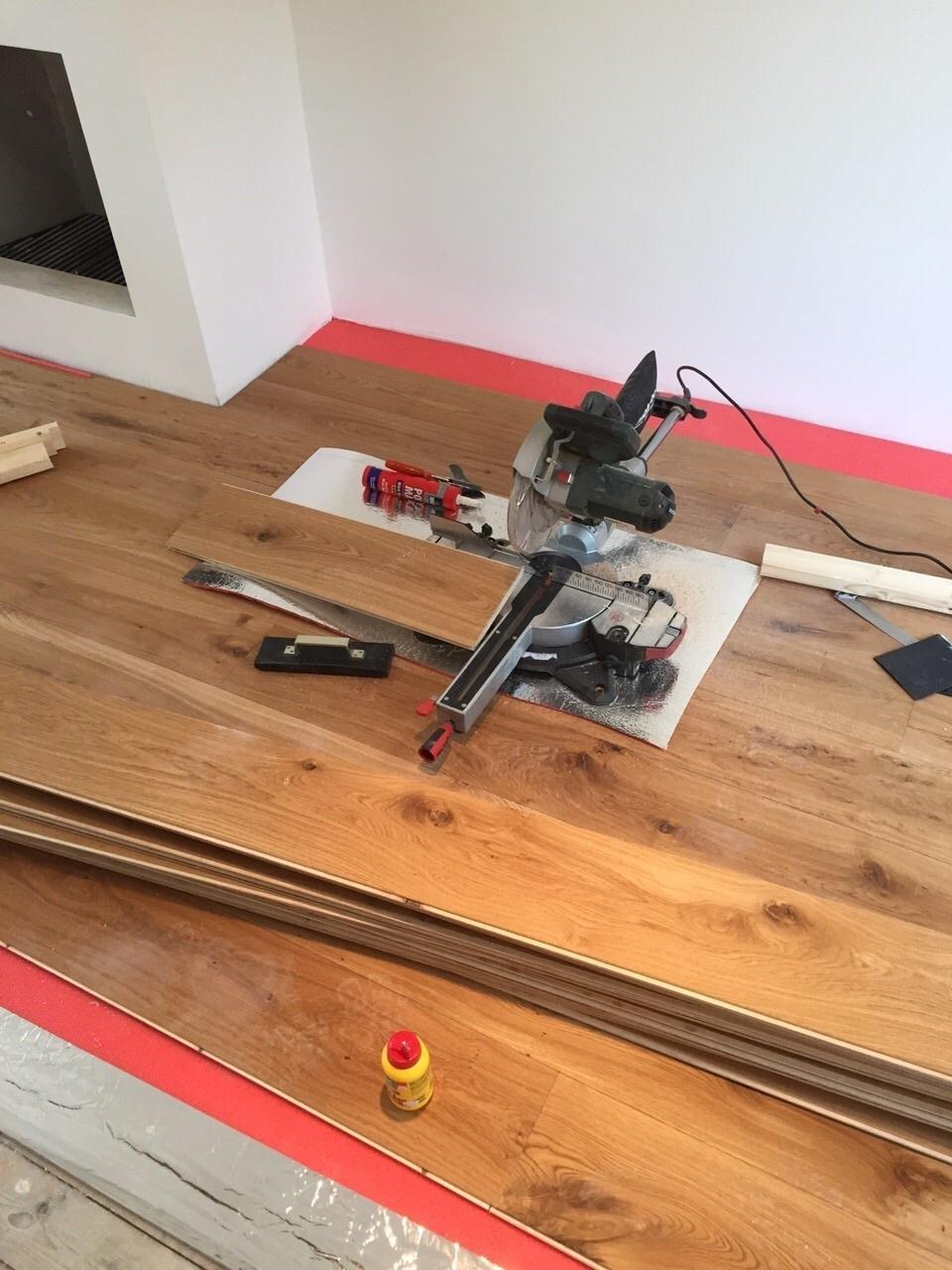 Installer un parquet