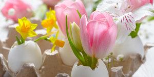 Une déco fait maison pour Pâques