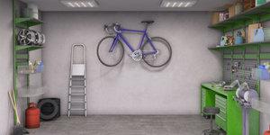 Inrichting van de garage