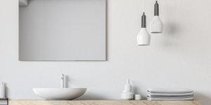 De veiligheids normen voor elektriciteit in een badkamer