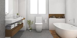 Inrichting van de badkamer