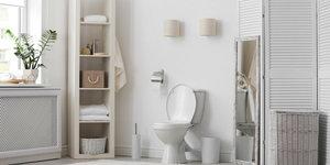 Inrichting van de toilet