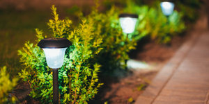 Breng uw tuinverlichting tot een goed einde