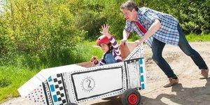 Maak een go-cart