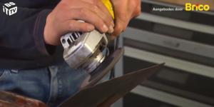 Klustip: Een botte schop opnieuw scherp maken