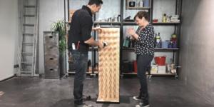 Conseil-bricolage: Fabriquer un porte-bouteilles