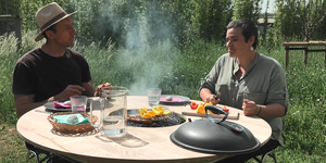 Fabriquer une table barbecue