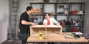 Fabriquer un meuble d'entrée