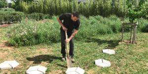 Conseil-bricolage: Pas japonais en béton