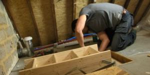 Placer une trappe de grenier