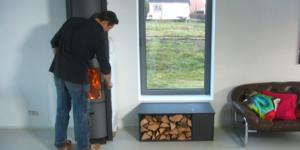 Conseil-bricolage: Un coffre à bois - banquette