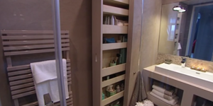 Apothekerskast voor in de badkamer