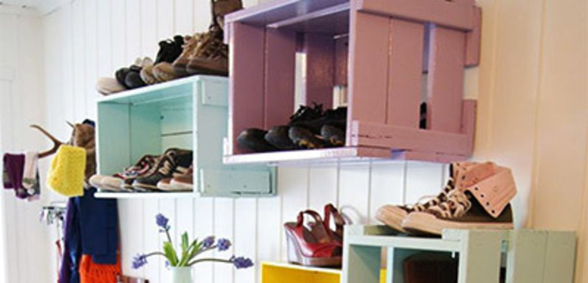 Schoenenkast Onder Trap.7 Creatieve Schoenenopbergers Die Jij Zelf Kunt Maken Brico