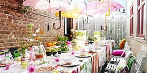 Idées pour une fête au jardin