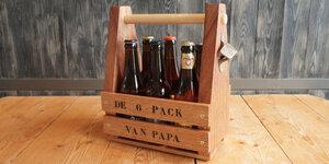 Réaliser son propre six-pack en bois