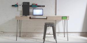Terug naar school: bureau maken met leuke laatjes