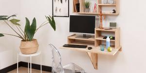 Hoe maak je een inklapbare bureau?