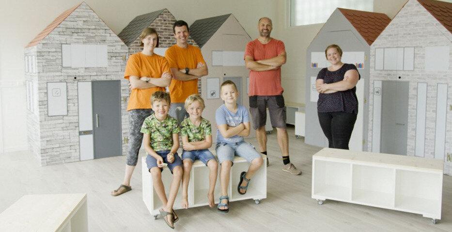Brico participe à la rénovation des écoles belges