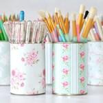 7 manières originales pour recycler les restes de papier peint