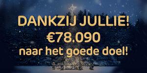 Brico zamelt 78.090 euro in voor het goede doel