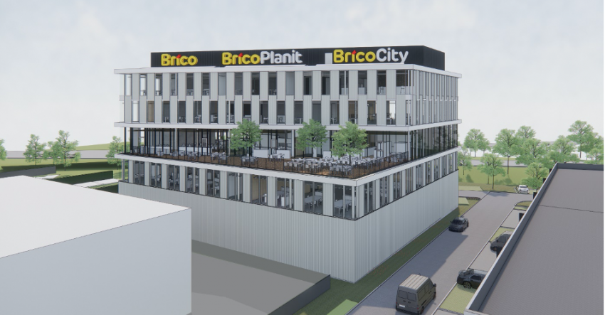 Nieuw hoofdkantoor voor Brico in Groot-Bijgaarden