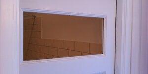 Mettre une vitre dans une porte intérieure
