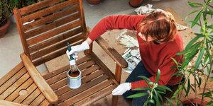 Hoe bescherm je tuinmeubels?