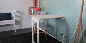 Een inklapbaar bureau